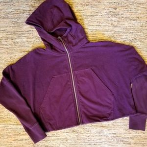 Lululemon Cropped Hoodie | size 10